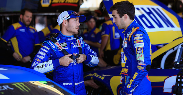 Rick Hendrick heaps praise on one of his young guns