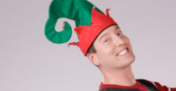 Kyle Busch shows his lighter side by dressing like an elf, and it's stylishly strange