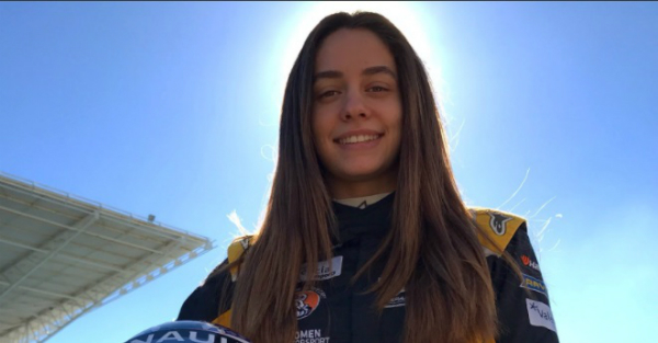 Promising young driver gets dumped by her team and may find herself out of racing
