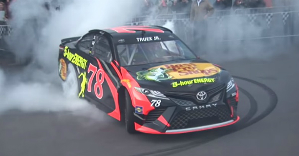 Martin Truex Jr. lets one of his major sponsors feel the burn — in a good way