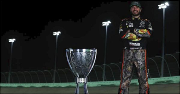 Truex's inspiring season was NASCAR's best story of 2017