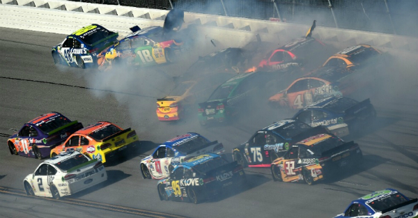 These are 10 of the biggest NASCAR wrecks of 2017
