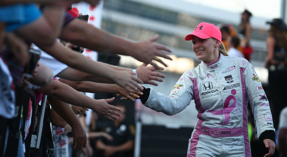 A debate rages on whether men and women should have separate racing series
