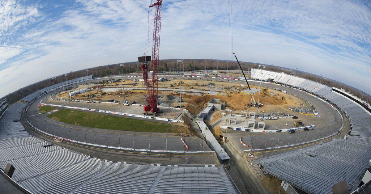 NASCAR raceway hits milestone, set to debut new, more modern track next season