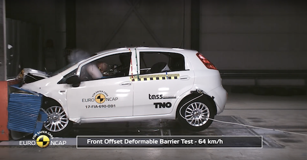 According to test results, you have a great chance of getting hurt — or worse — driving this car