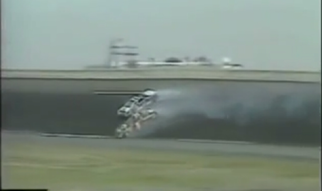Countdown to Daytona: This wild finish featured 2 cars smashing into each other and a fight