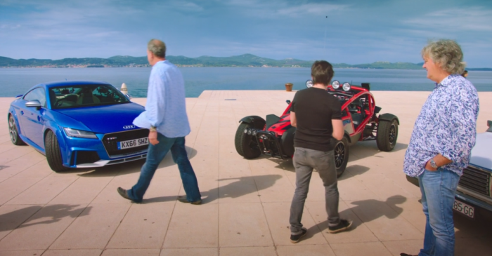 The Grand Tour goes unscripted, leading to chaos