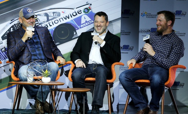 Dale Jarrett said 2017 brought two shocking surprises involving Dale Jr. and Tony Stewart