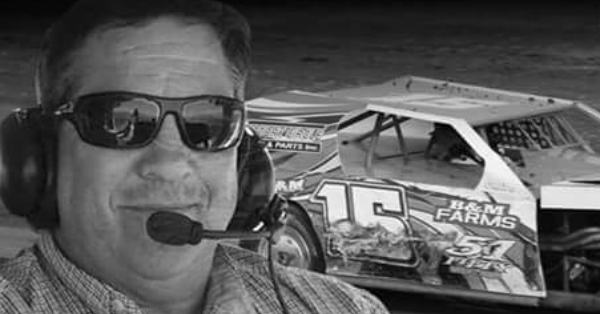 A grieving son describes the tragic moment a wreck on the race track caused his father's death