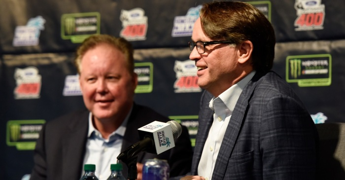 "NASCAR president defends Brian France and his ""style"""