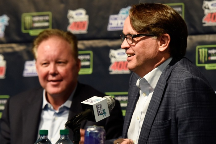 """NASCAR president defends Brian France and his """"style"""""""