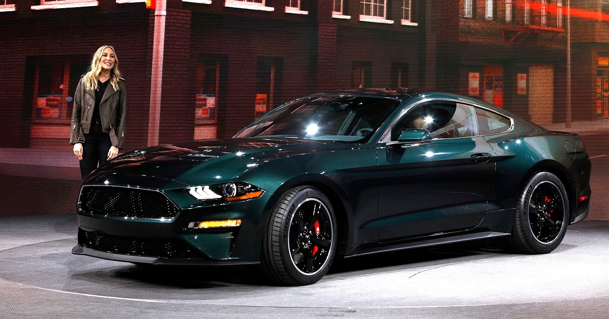 The first of the new Mustang Bullitts went for an incredible price at auction