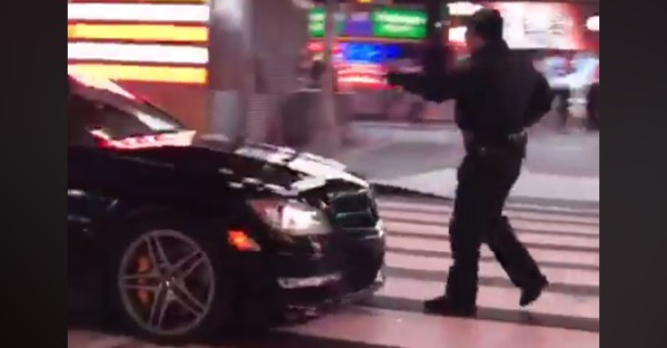 Police think they found the men responsible for an insane chase through Times Square