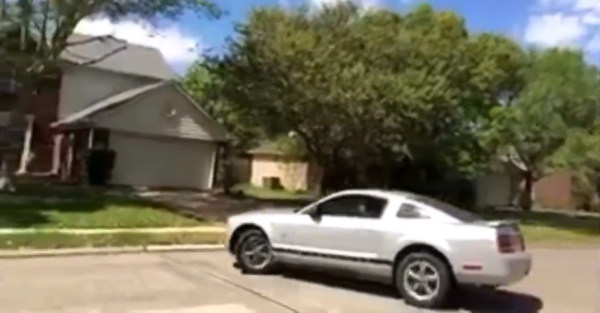 Watch a Mustang driver learn the definition of understeer