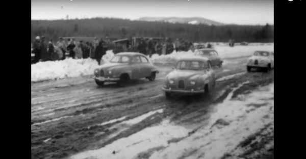 Check out this vintage, 60 year old race footage from New Hampshire