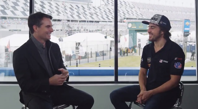 Jeff Gordon interviews racing great, who gives an interesting answer about possible NASCAR future