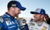 Jimmie Johnson and Dale Earnhardt