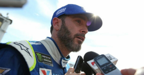 Jimmie Johnson talks about the ownership group being formed to buy at NFL team