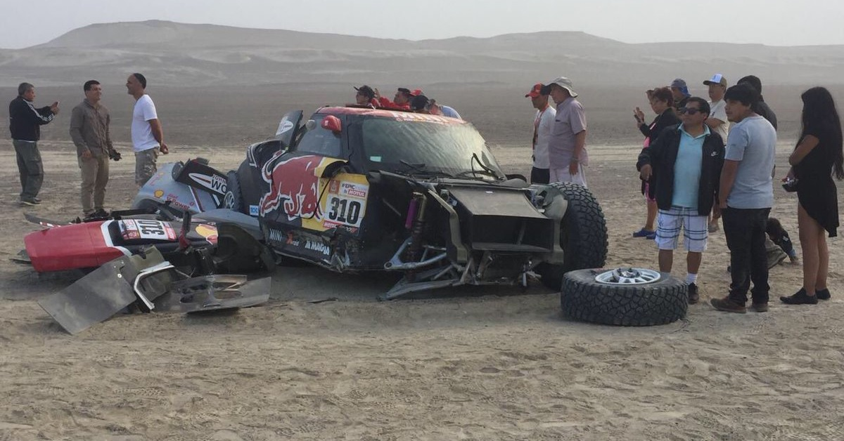 The unforgiving desert kills a chance for an American team to win the Dakar Rally