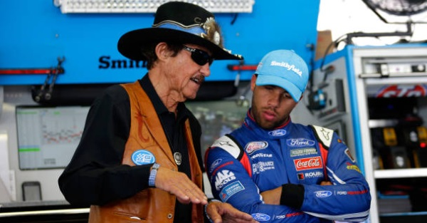 The King gives us a sneak peek as his team builds out Bubba Wallace's ride