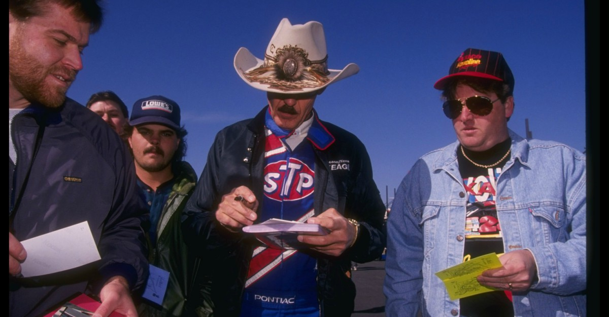 Getting one piece NASCAR memorabilia signed by Richard Petty comes with a catch