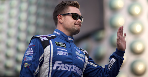 A still furious Ricky Stenhouse Jr. repeats a threat that all drivers should take seriously