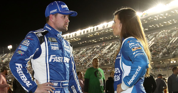 Ricky Stenhouse makes it clear how he will treat Danica Patrick on the track