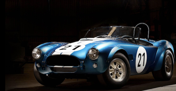 Shelby is building a special edition Cobra to honor a legendary racer