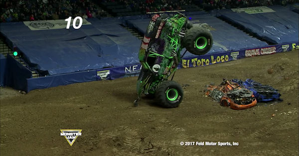The ten best Monster Jam moments show off some of the best monster truck stunts ever performed