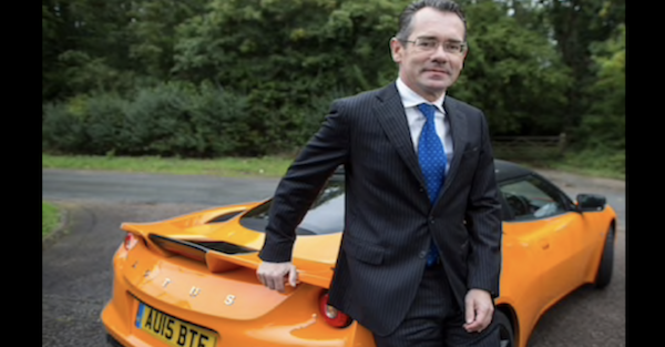 A CEO tries to get out of a speeding ticket by using a rather creative excuse, but fails
