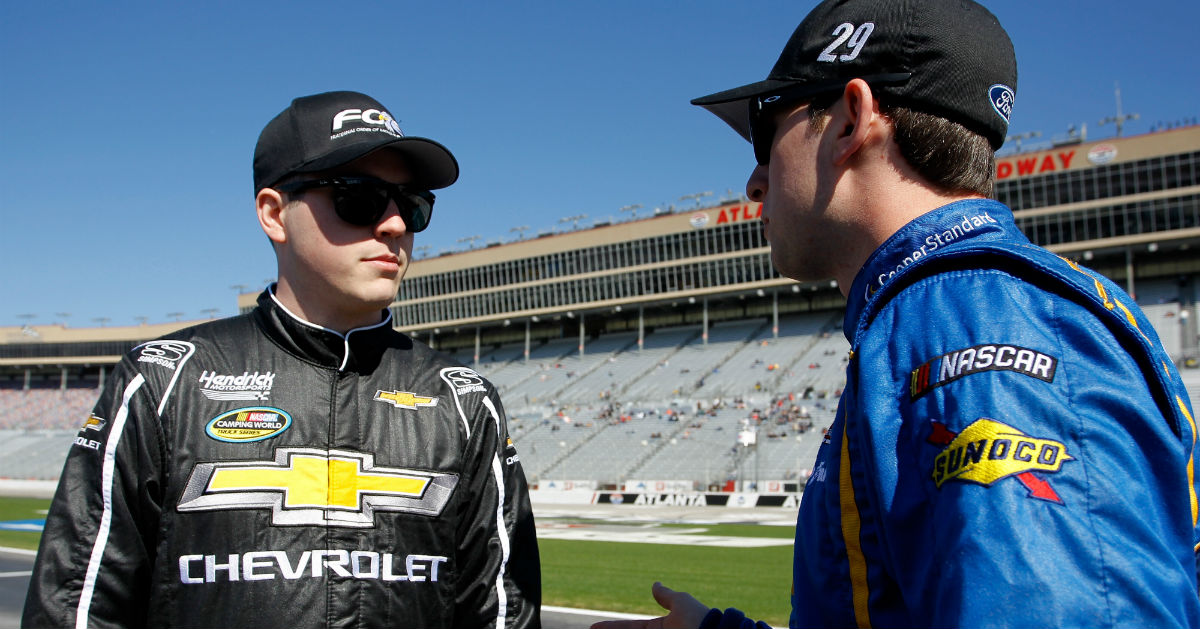 Cup series young gun has a nickname he'd rather not have