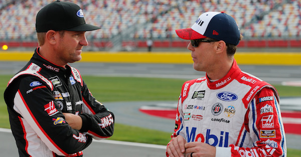 Switching to Ford was a struggle for a NASCAR veteran