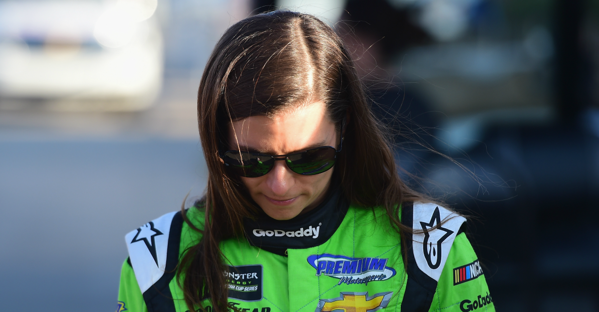 Danica Patrick's career ends with a trip to the infield care center