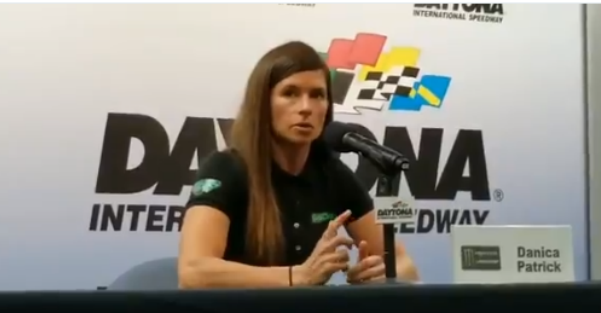 Danica Patrick, preparing for the Daytona 500, has one regret