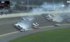 Daytona crash