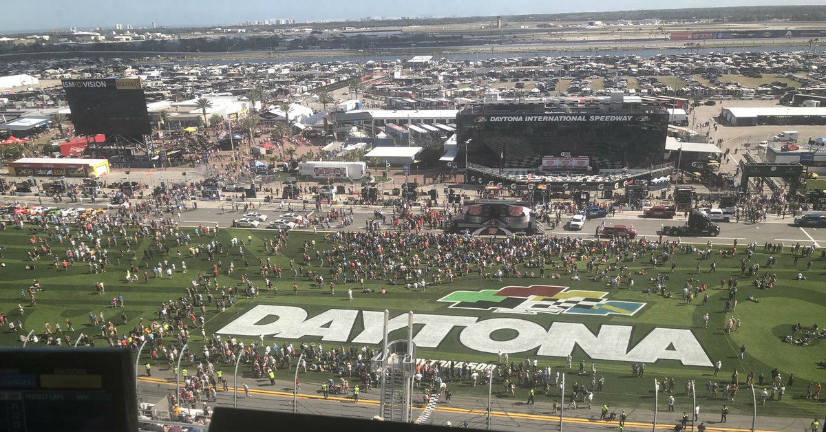 The biggest question mark at today's Daytona 500 has nothing to do with the drivers