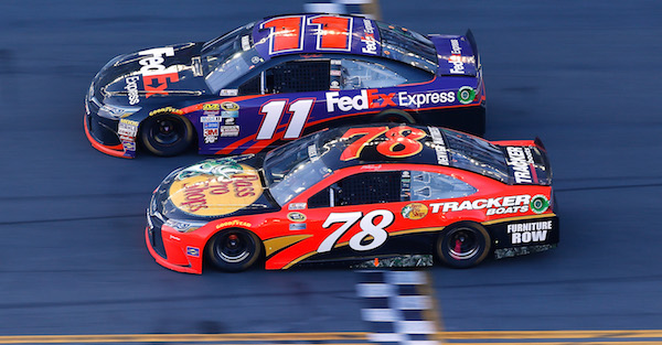 Countdown to the Daytona 500: Remembering the closest finish in Daytona 500 history in 2016