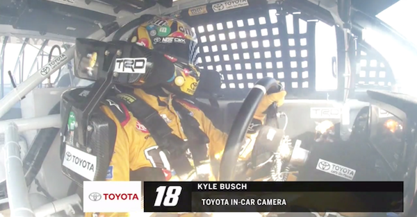 Kyle Busch is having a tough start to the Daytona 500