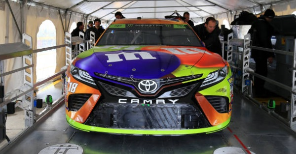 In a video, NASCAR explains is fascinating new car inspection process