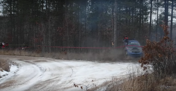 Race car loses control, hits a man as a stunned crowd screamed in horror
