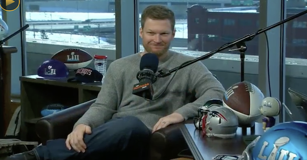 Dale Earnhardt Jr. was once having trouble with retirement, but not anymore