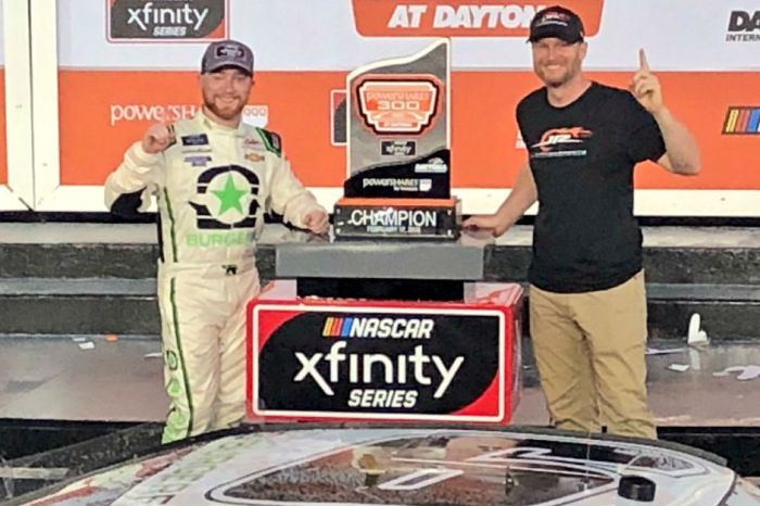 Tyler Reddick wins a wreck filled and wild Xfinity race at Daytona