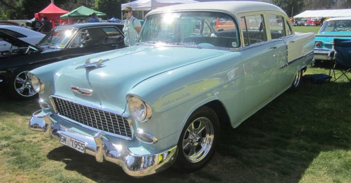 Australian Man Got the 1955 Chevy 210 of His Dreams After 21 Years of Building