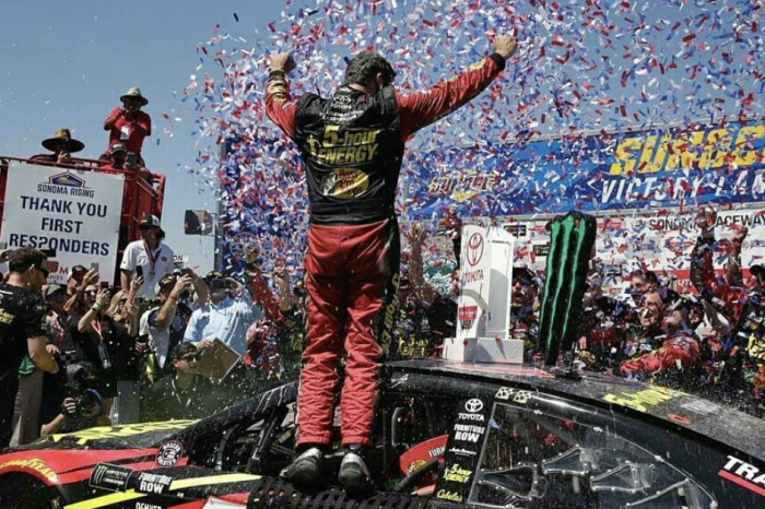 Martin Truex Jr. Wins at Sonoma Thanks to Clever Pit Stop Trick