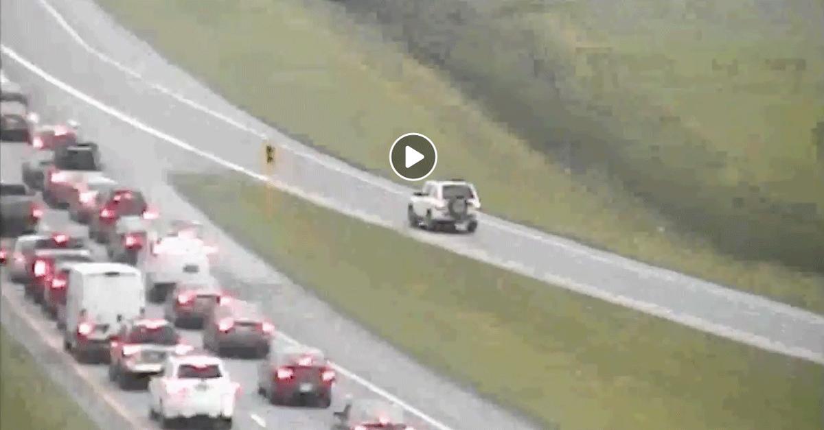 Wrong Way Driver Ohio Video