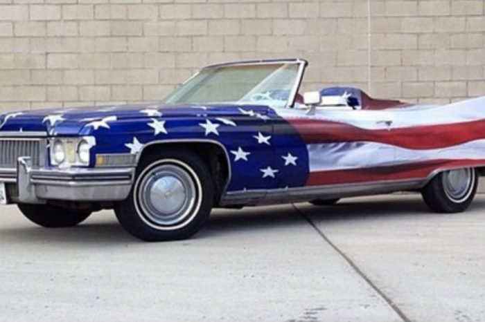 These Patriotic Paint Jobs Will Have You Swelling With American Pride