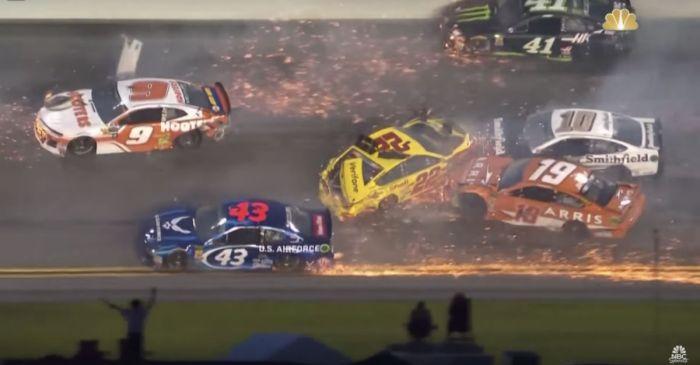 Ricky Stenhouse Jr. Caused All-Out Craziness at Daytona