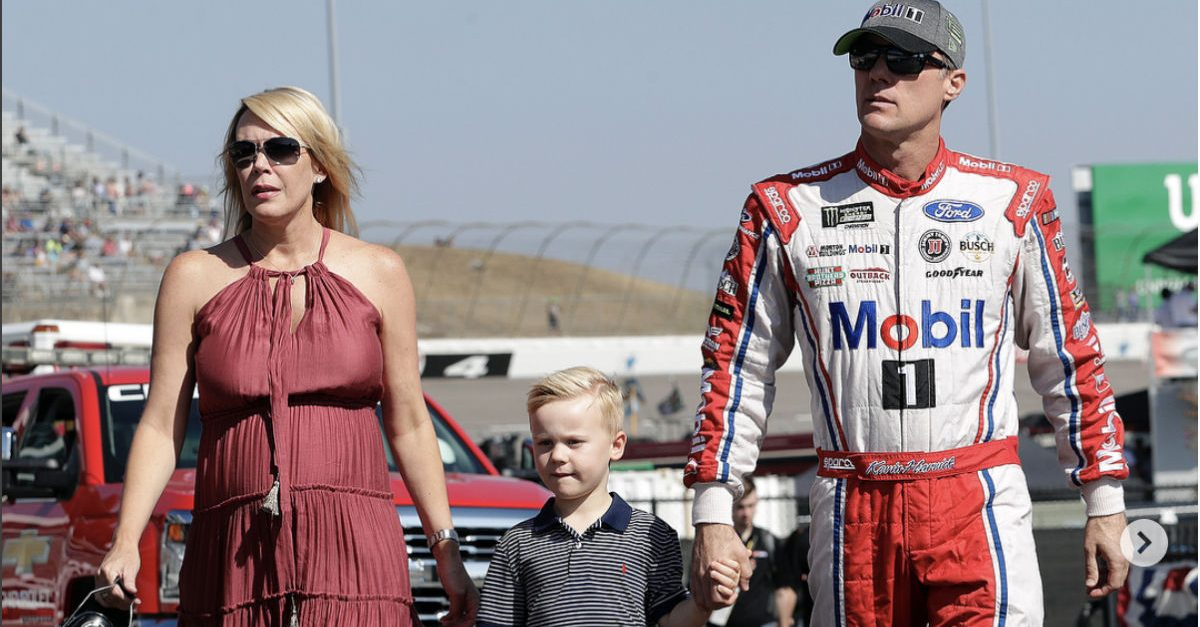Kevin Harvick Family
