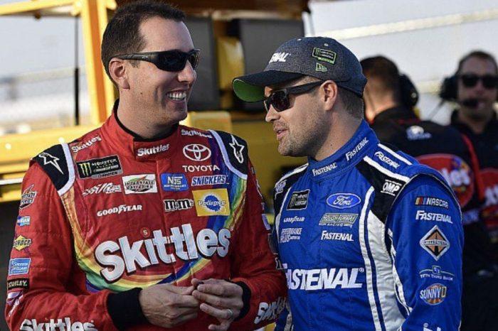 "Should NASCAR ""Step Into"" the Kyle Busch, Ricky Stenhouse Jr. Feud?"