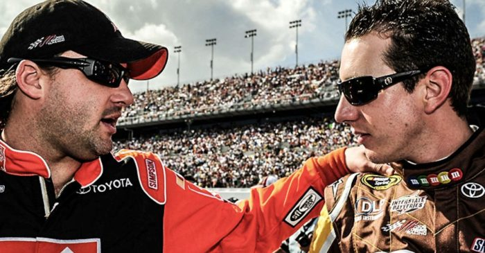 Here's What Tony Stewart Said After Kyle Busch Tied Him on NASCAR Wins List